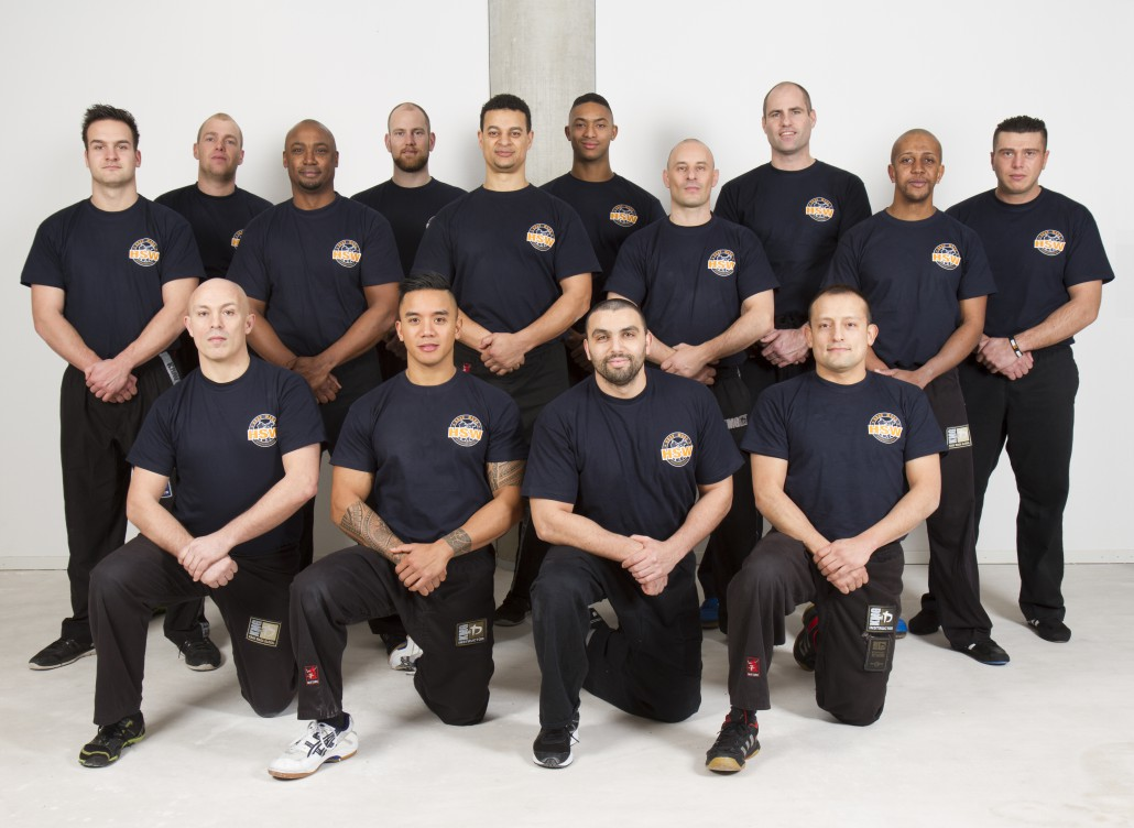 Krav Maga HSW instructeur team
